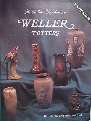 WELLER ART POTTERY PRICE VALUE GUIDE COLLECTOR'S BOOK Vase Pitcher