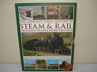 The Complete Visual History of Steam & Rail (H/B: 2 Book Box Set)