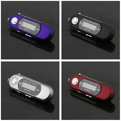 USB 2.0 Flash Drive LCD Mini MP3 Music Player with FM Radio Voice MX