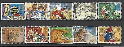 Gb 1994 Greetings Messages Sg1800/9 Used Set
