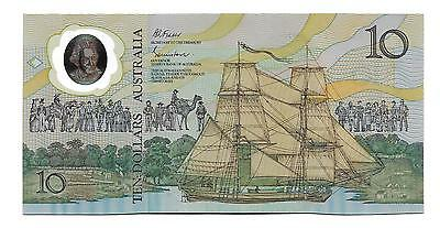10 Dollars Commemorative Issue Australia banknote,ND(1998),P-49 , James Cook ,AB
