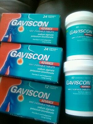 180  Gaviscon Advance tabllets