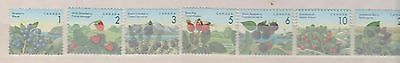 1992 CANADA  Edible Berries issue - FRUIT - SET of 7 - SG#1460 - 66  UM MNH MUH