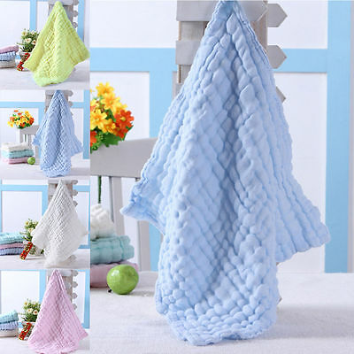 Baby Infant Newborn Face Washers Soft Bath Towel Cotton Bathing Wipe Wash Cloth