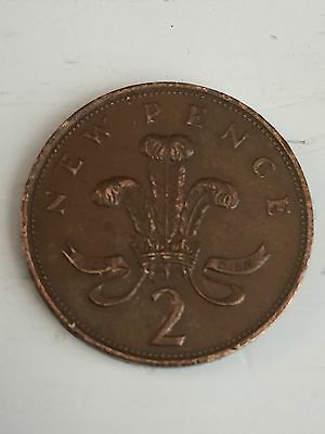 1979 New Pence Coin UK Rare 2p