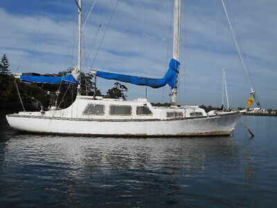 Hartley 36ft ferro yacht ketch WOW ! (sydney harbour) No Reserve!