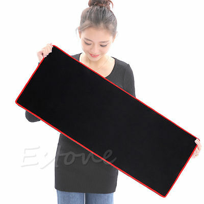 New XL PC Laptop Computer Rubber Gaming Mouse Pad Mat Large Size 600*300 *2mm