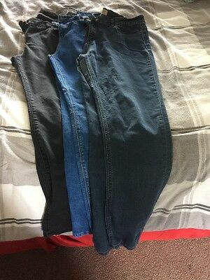 Skinny Jeans Bundle Size 16 Fat Face, M&S, New Look