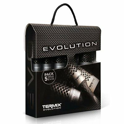 Termix C627MP Kit cepillos termicos evolution plus 5 Cepillos