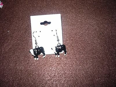 Hereford Cross Cow Earrings