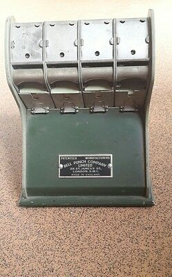 bell punch company ticket machine