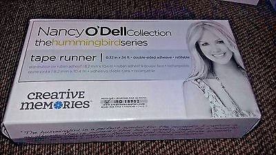 Creative Memories Tape Runner Purple Nancy O Dell with 34ft  Adhesive