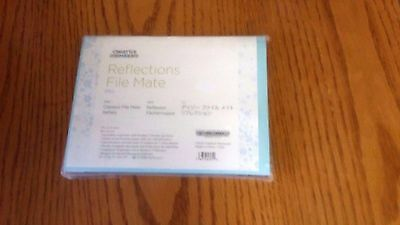 Creative Memories Mini Reflections File Mate New NIP Aqua Light Blue
