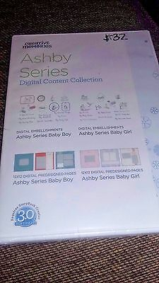 Creative Memories Digital Content Ashby Baby Boy & Girl Series CD $32 Retail