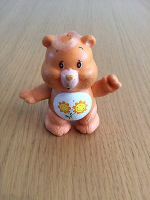 Care Bears Friend Bear Toy - 1983 Kenner 3 Inch Figure - Posable