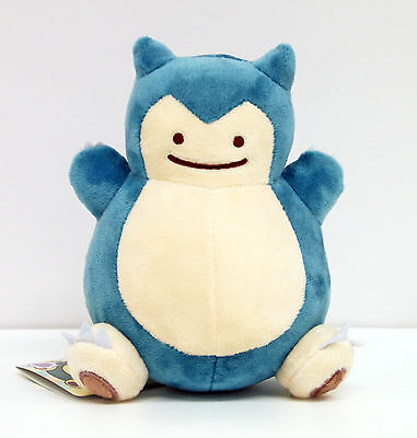 NEW Cute Pokemon Soft Plush Doll Ditto Metamon Snorlax Toy Kids Gift !!