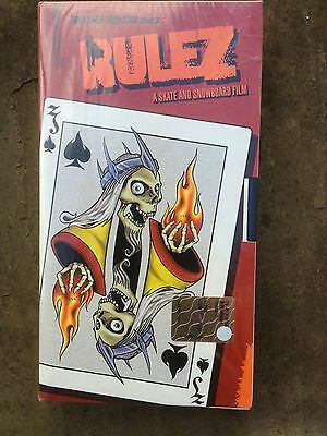 Skateboard And Snowboard Vhs Video Sealed Zombies Rulez