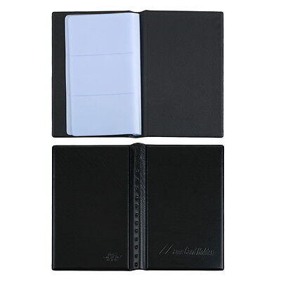 120 Sheets Business Name ID Bank Credit Cards Holder Book Case Organizer MX