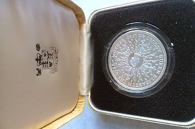 United Kingdom Silver Proof Crown Queen Mother 80th Birthday 1980