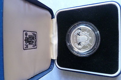 United Kingdom Silver Proof Two Pounds Coin 1986 Commonwealth Games