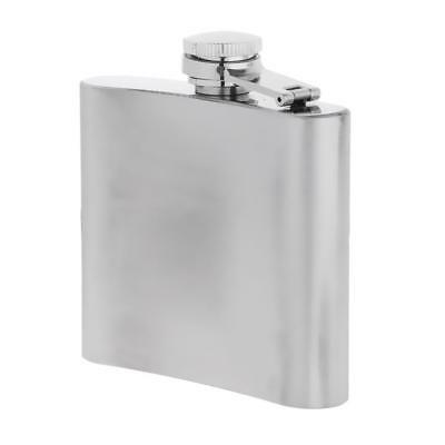 Portable Stainless Steel Hip Flask Alcohol Wine Bottle Outdoor Drinking 5oz