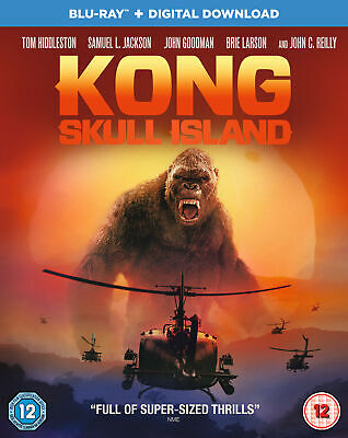Kong: Skull Island (Blu-ray) Tom Hiddleston, Brie Larson, Samuel L. Jackson
