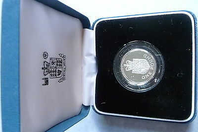 United Kingdom Silver Proof One Pound Coin 1988
