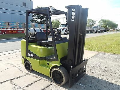 Used Clark Forklift - 6,000 Lbs Capacity