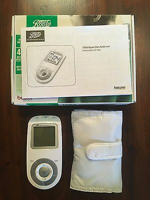 Boots TENS Machine Digital Pain Relief Unit (ONLY USED ONCE!)