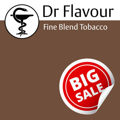 FINE BLEND TOBACCO e liquid Dr Flavour Concentrate DIY Doctor Vape Juice