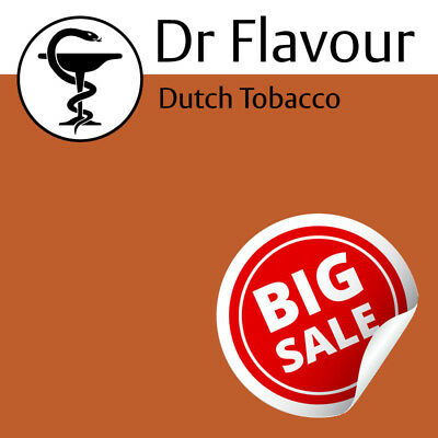 DUTCH TOBACCO E liquid Dr Flavour Concentrate DIY Doctor