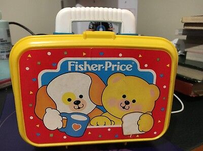 Vintage 1992 Fisher Price Play Lunch Box