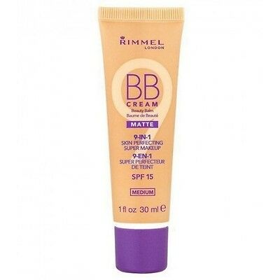 BB CREAM Matte 9 en 1 de RIMMEL couleur MEDIUM SPF 15 30ml
