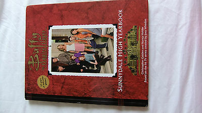 Buffy the Vampire Slayer Official Sunnydale High Yearbook Hardback by C Golden