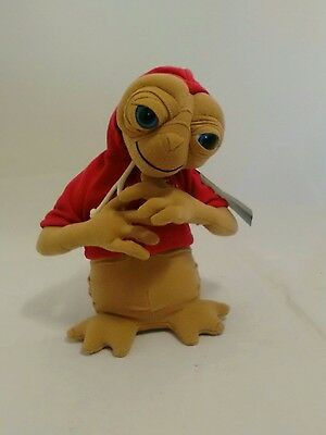 "Universal Studios Plush Approx 10"" E.T Soft Toy with Red Hoodie"