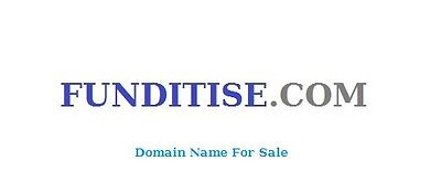 Domain Name -  FUNDITISE.COM