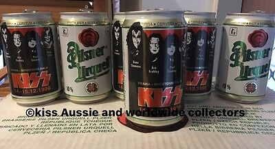 KISS 1996 Opened Beer Can. Official Not Aucoin.one Can Only Not 6.