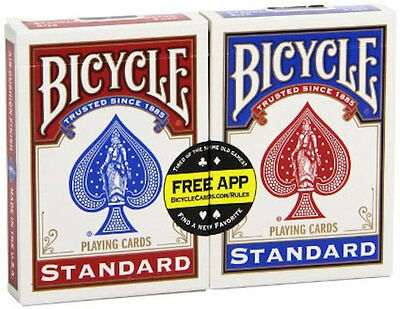 2  Decks Bicycle US Standard Poker Playing Cards Card Made in USA New