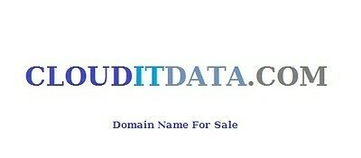 Domain Name -  CLOUDITDATA.COM   9cloudit .com sold for $20,000)