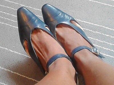 Real leather. Vintage shoes talla 37