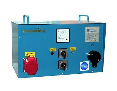 TRANSWAVE Static Converter STC4 -  5.5hp/4kW Single to 3-phase 240v to 415v
