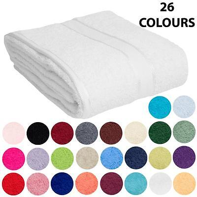 100% Cotton Towels –Choose Bath Sheet Bath Towel Hand Towel Face Washer Bath Mat
