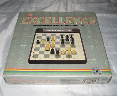 Vintage The Excellence Chess Game Fidelity International EP-12