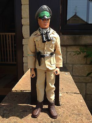ORIGINAL VINTAGE ACTION MAN Desert Afrika Korps German Officer Figure