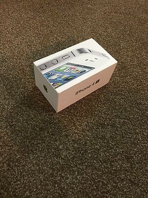 Apple iPhone 4S White 16GB EMPTY BOX ONLY Packaging
