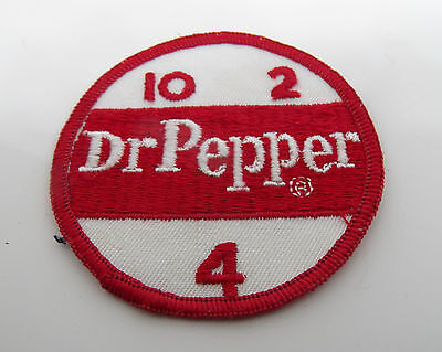 Vintage Dr Pepper Co Workers Shirt Patch Advertising Logo 1960s collectable