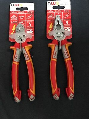 NWS VDE 1000V 2 X 6in1 Supercutter,Combination Pliers
