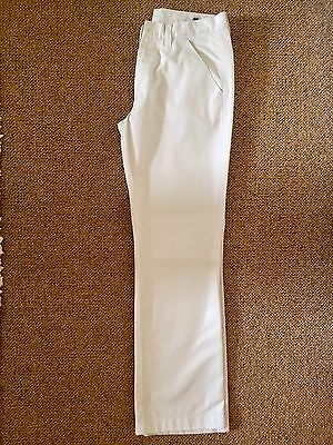 Beautiful Galvin Green Mens White Trousers - 32/32