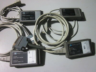 Hp/agilent Models 15453A 15456A 10248A & 10248C 8 & 10 Bit Probes (For 8170A)