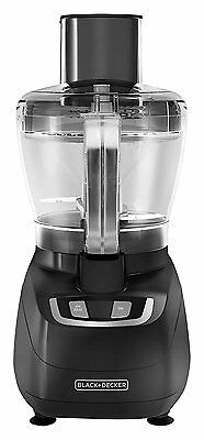 Food Processor 8-Cup Stainless Steel Chopping Blade 450-watt Small Baby Kitchen